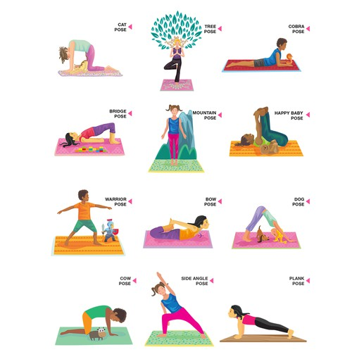 Yoga style for children