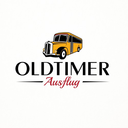 Mature and Classic Logo Design for Company that Hiring Oldtimer Vehicles