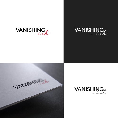 Vanishing ink llc needs a logo design