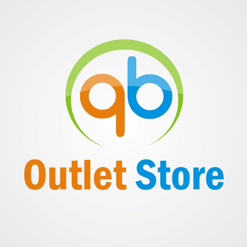 Create a logo that will help brand the online presence of The QB Outlet Store