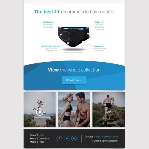 Runderwear Undies eShop eMail
