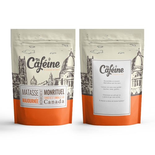 Packaging for ma cafeine