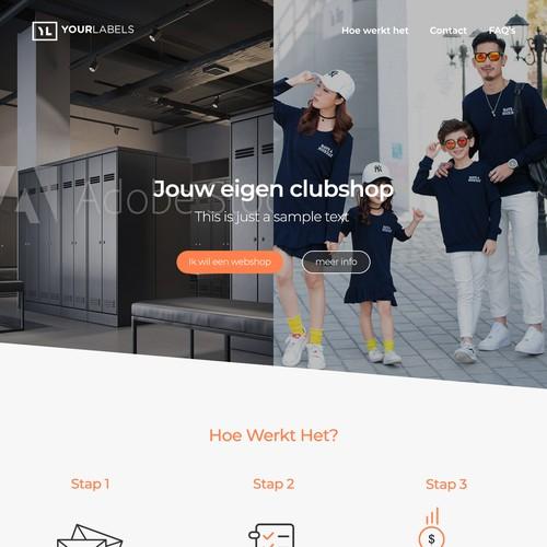 Sportswear Company Website