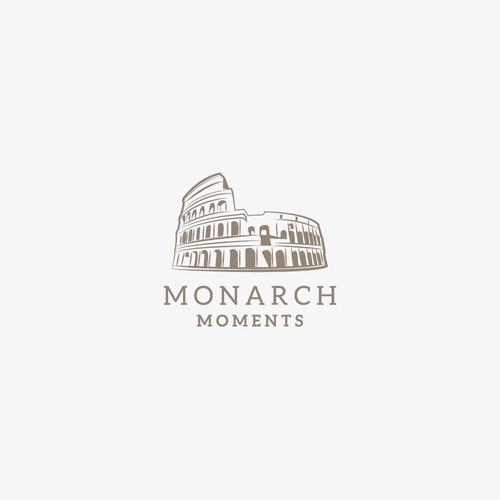 Monarch Moments logo design