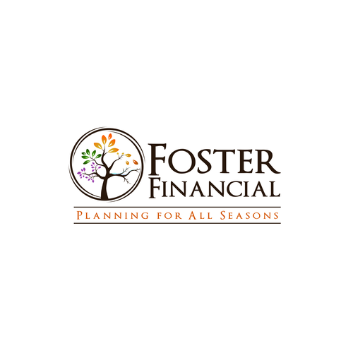 Channel the beauty of all four seasons to create a logo for a financial advisor!