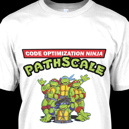Cool PathScale t-shirt (rush)