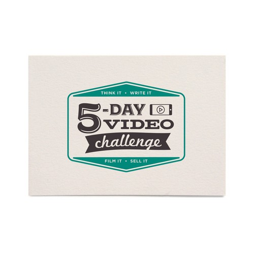 Final logo for the 5-Day Video Challenge