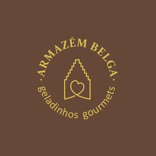 Logo concept for Belgian chocolate shop