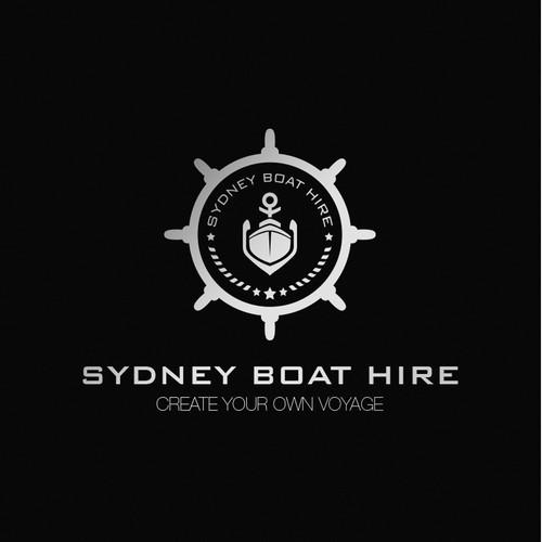 Sydney Boat Hire Logo Design