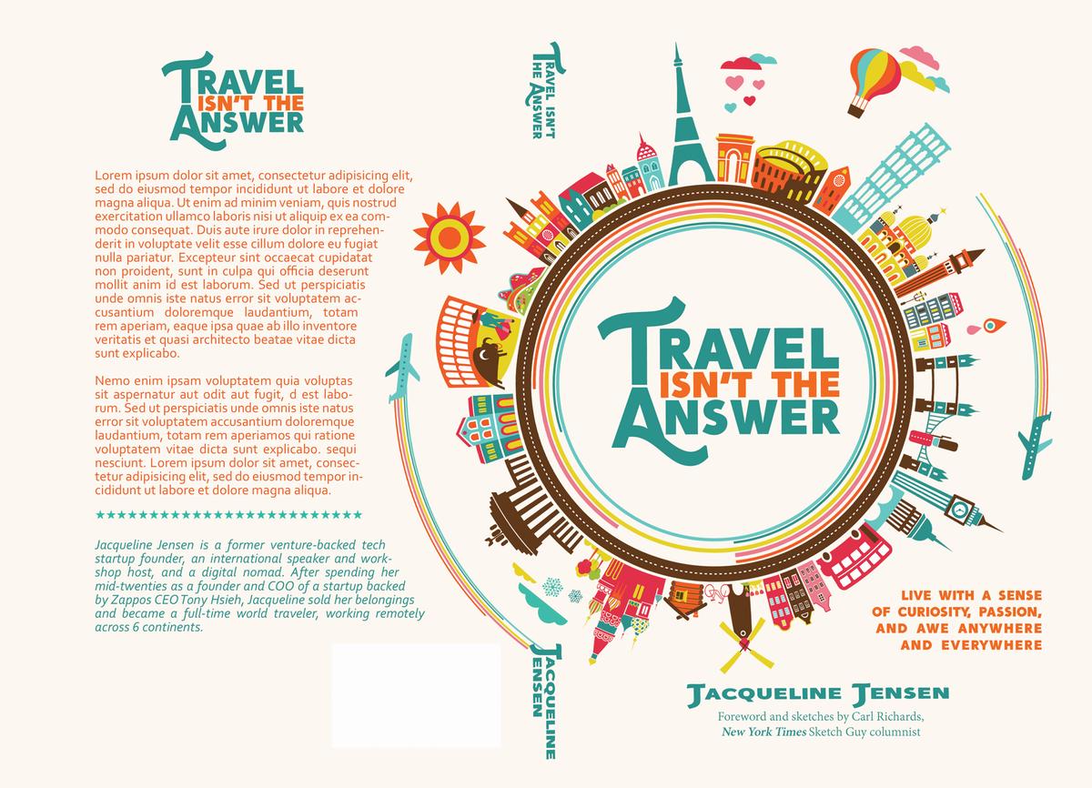 Adjusting elements on Travel front cover