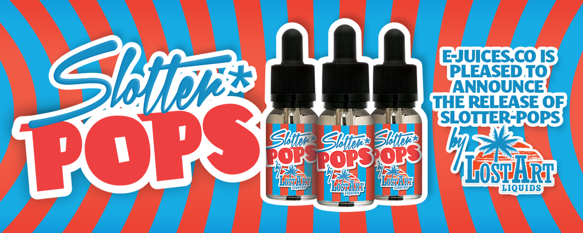 Slotter pops banners for ejuice