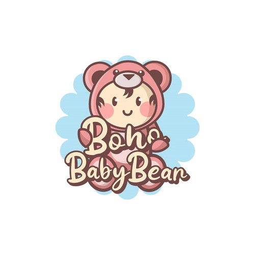 Logo concept for baby clothing store