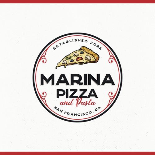 Marina Pizza and Pasta Logo Contest