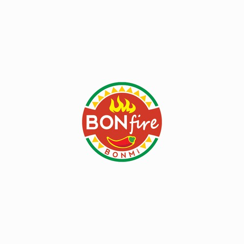 Sauce Fire Logo Concept for BONfire