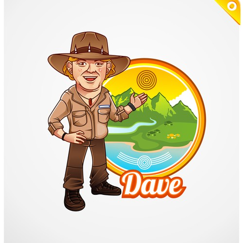 Australian Adventure Tour company needs a fun & groovy mascot logo