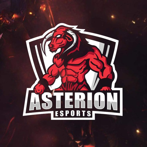 Logo design for_ASTERION ESPORTS