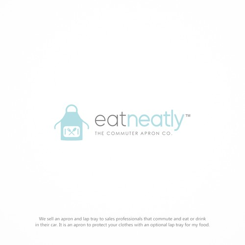 Simple Logo for Apron Company Eat Neatly