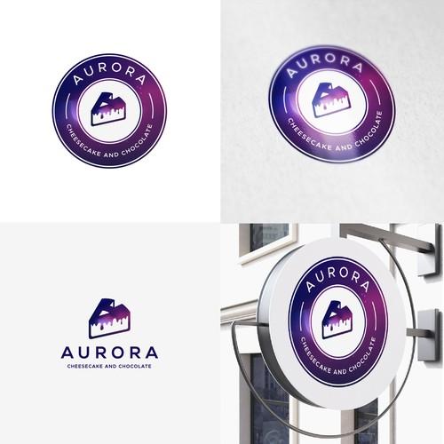 Logo design for cake company .