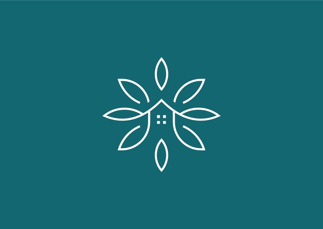 Create an elegant and peacefully logo for a Holistic Health company