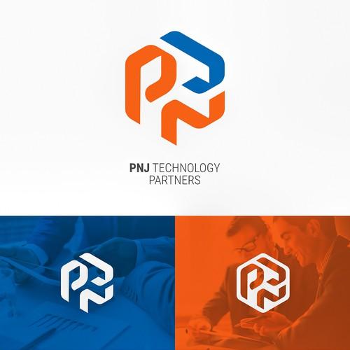PNJ logo for IT company