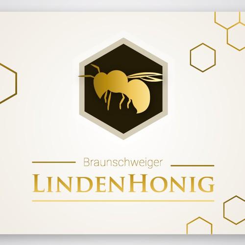 Etikett für Lindenhonig