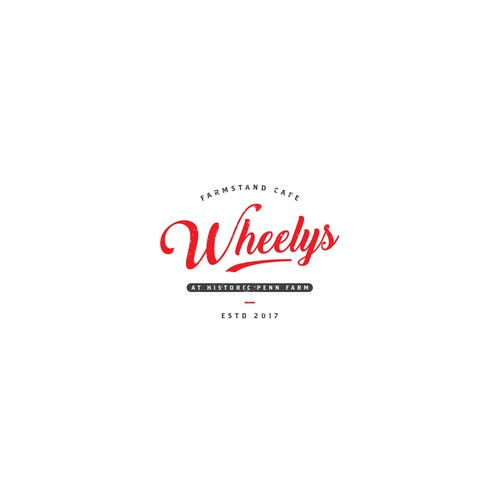 Logo for farmstand cafe Wheelys