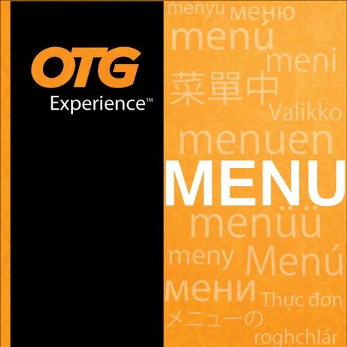 New restaurant menu design wanted for OTG Management