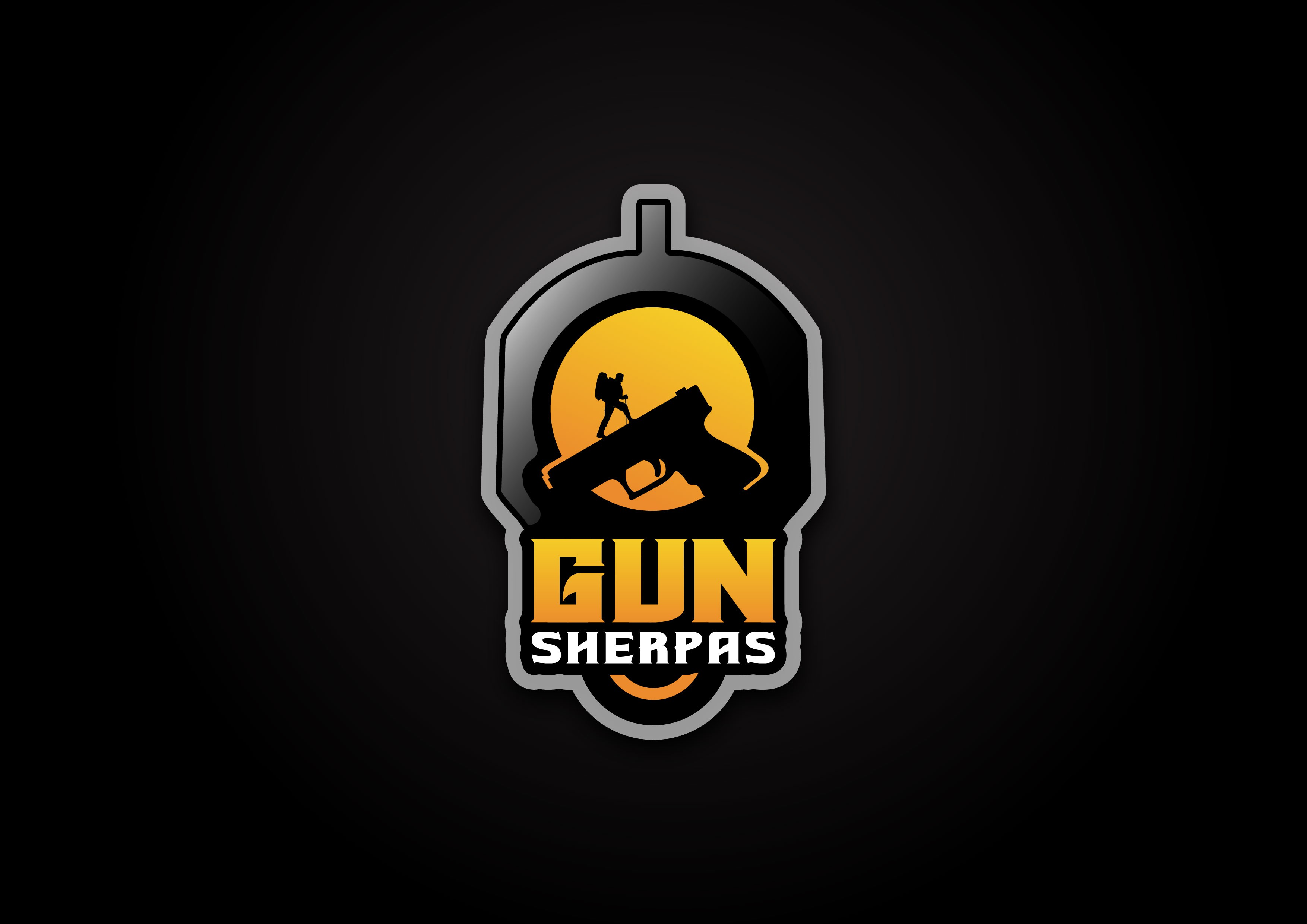 Expressive Logo needed for Gun Sherpas Blog. Your guide to all things guns.