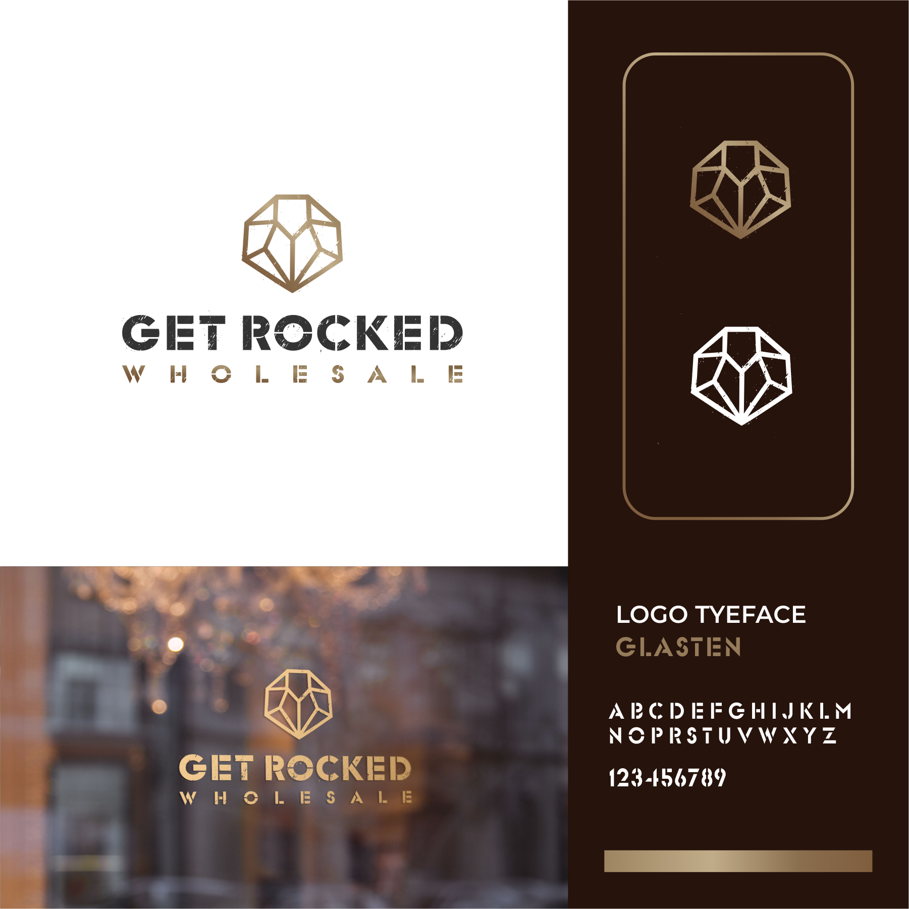 Up and Coming Crystal Wholesaler Looking for Urban feel with Logo