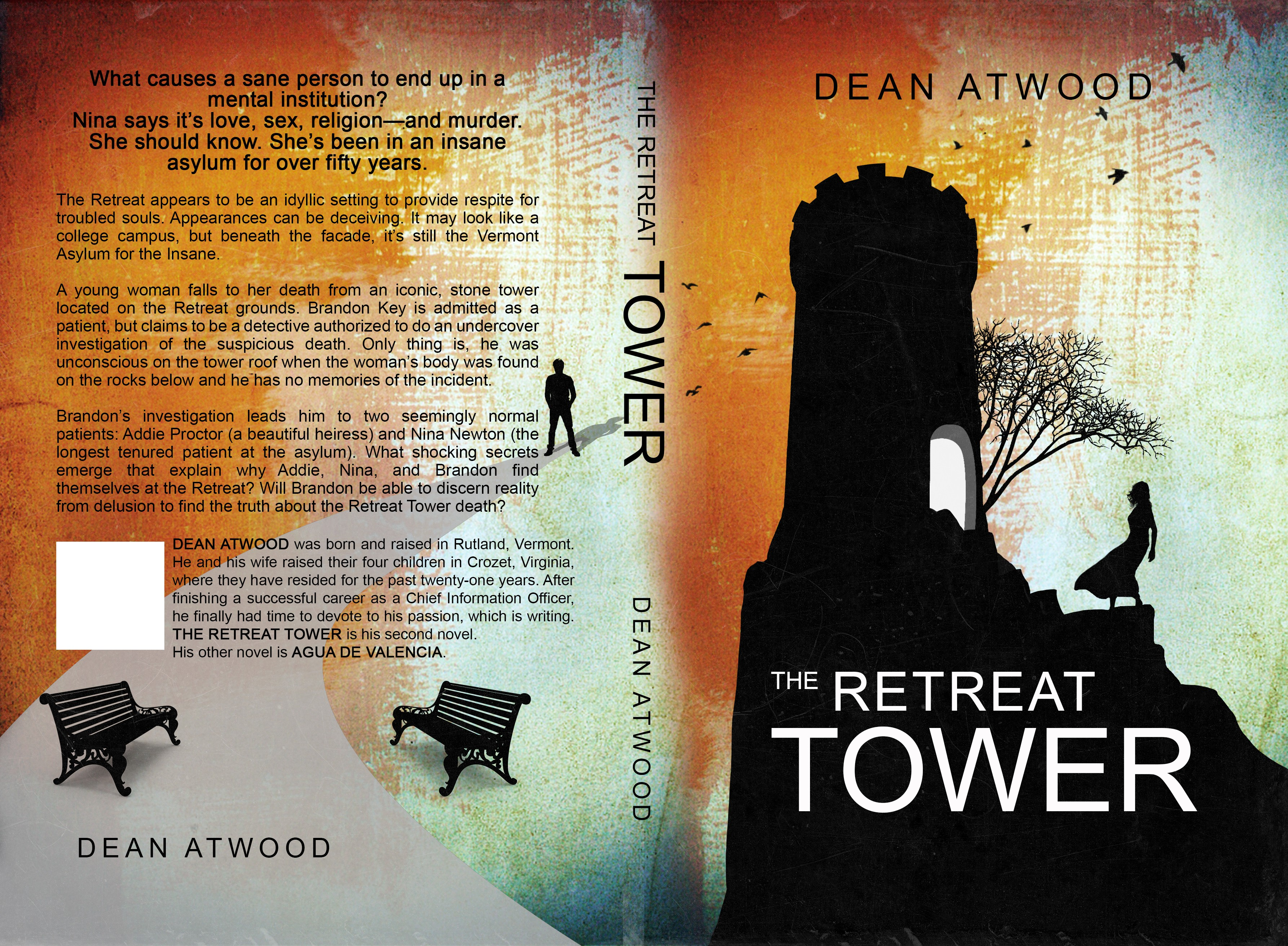 Design a cover for THE RETREAT TOWER novel