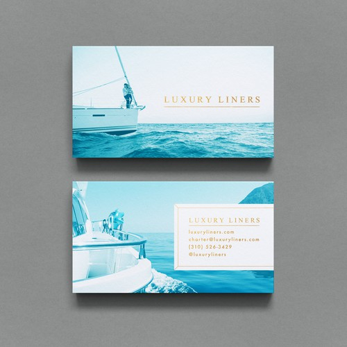 Business Card: Yacht Rentals & Charters