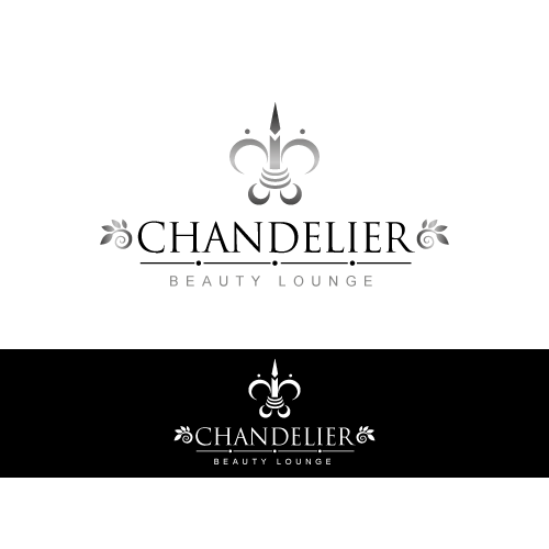 Create the next logo for CHANDELIER BEAUTY LOUNGE