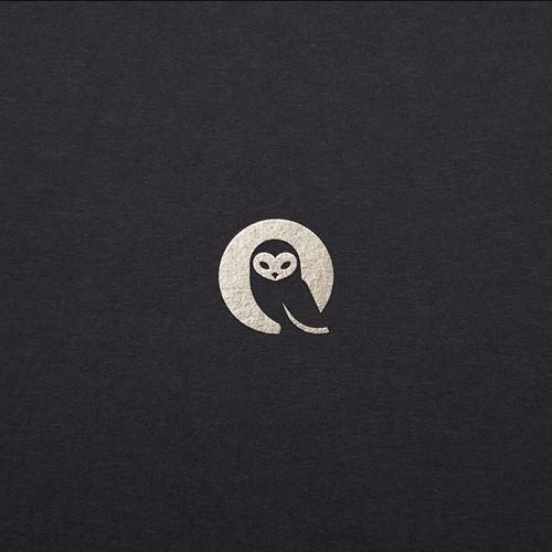 Bold logo concept for caffeine-free energy drink