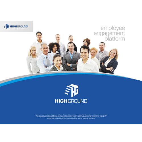 logo design for HIGHT GROUND company