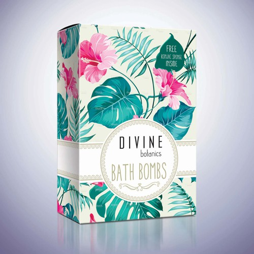 packaging design bath bombs