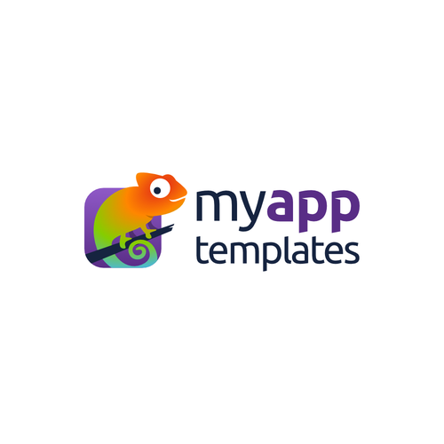 Design a modern logo for MyAppTemplates