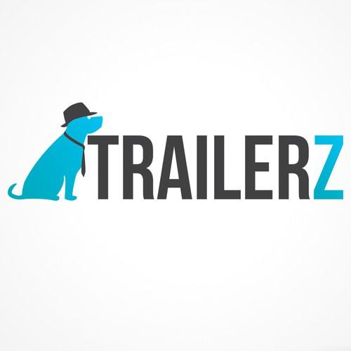 Dog design logo for online background company