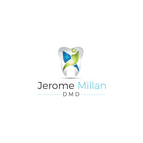 Design a new logo for Jerome Millan, DMD, personalized dental care