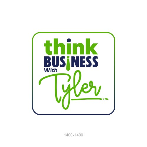 Logo for think business with tyler