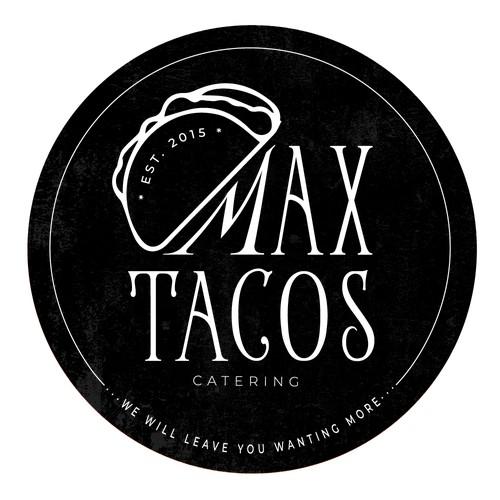 Max Tacos Logo Design