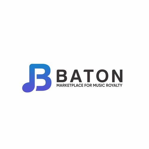 Simple logo for Baton