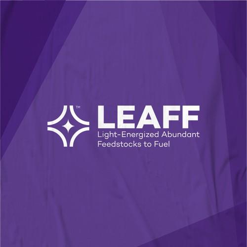 Geometric Logo Concept for LEAFF