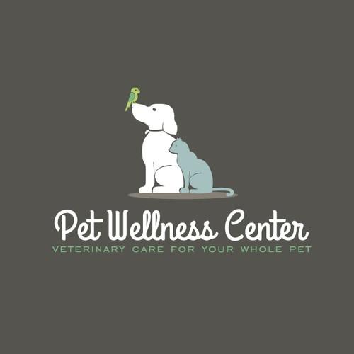A boring veterinarian seeking a hip and novel logo