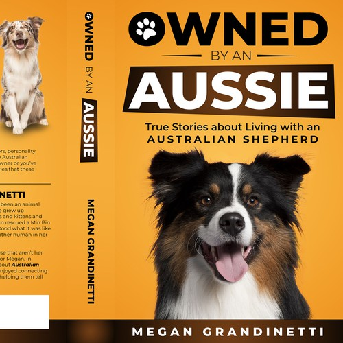 Book Cover designed to catch the eye of Dog Lovers