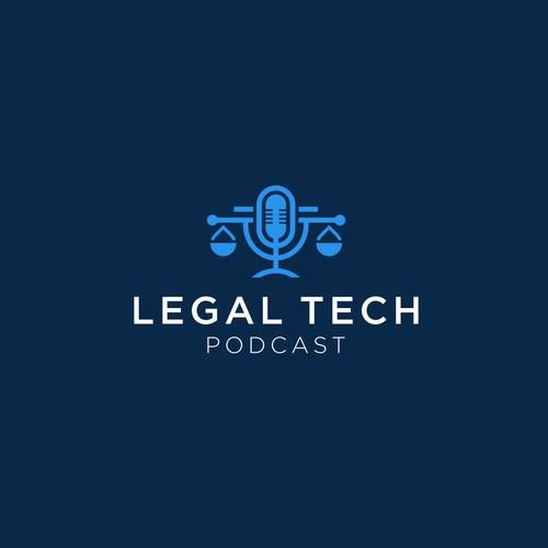 Logo für ersten Legal Tech Podcast designen