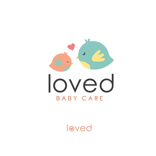 Logo for baby care