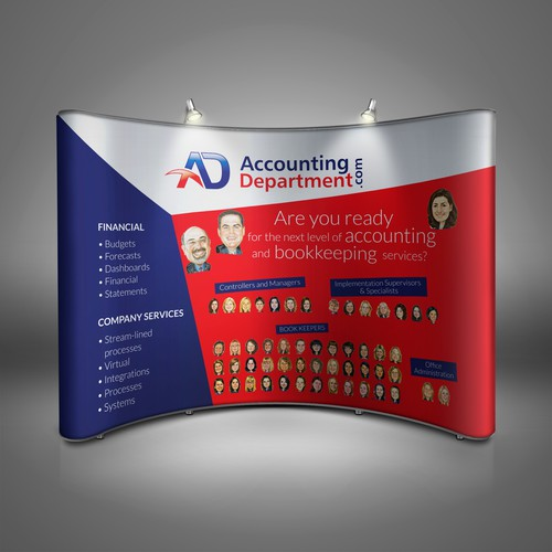 Booth Design for Accounting Department