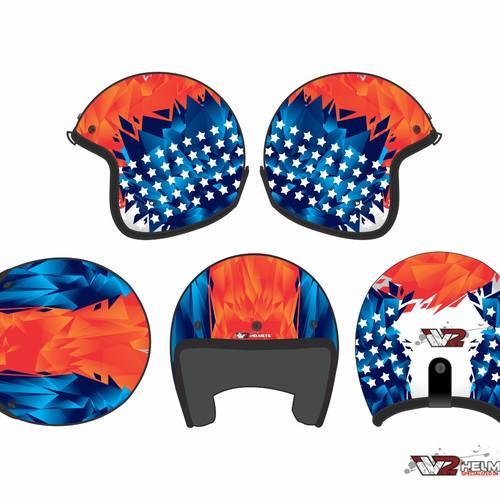 IV2 Helmets - Skin design