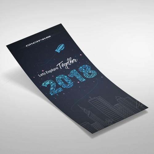 Carte de voeux 2018 QIONIS