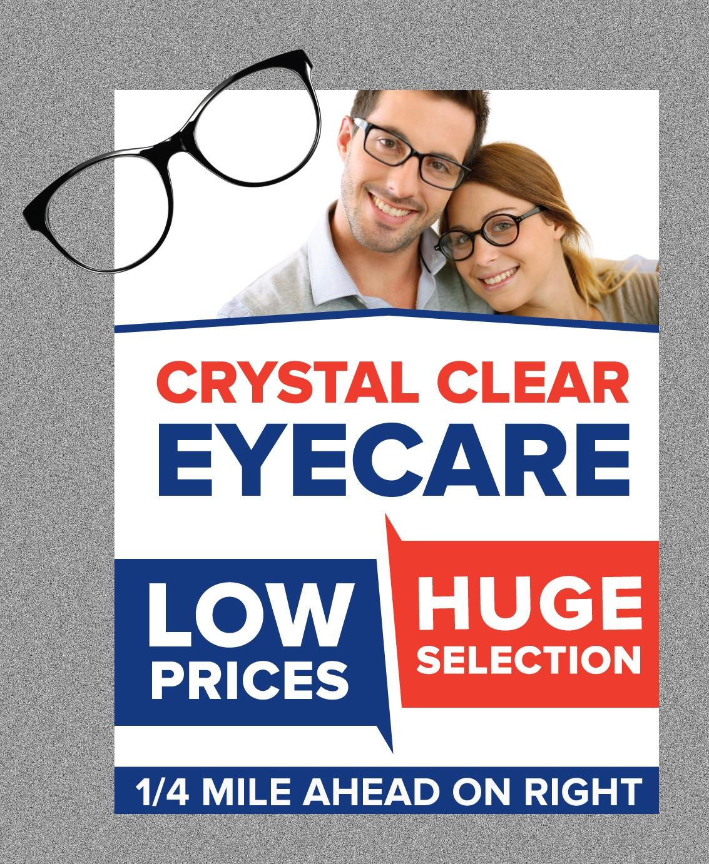 Eyeglass Store Billboard